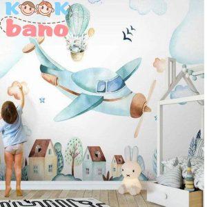 طراحی دکوراسیون اتاق کودک کاربردی :