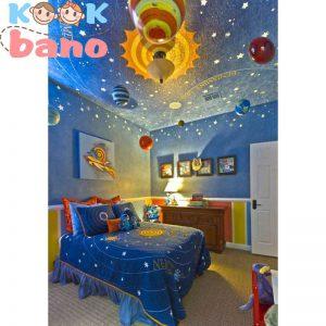 استفاده از رنگ و تاثیر ان در طراحی دکوراسیون اتاق خواب نوزاد پسر: