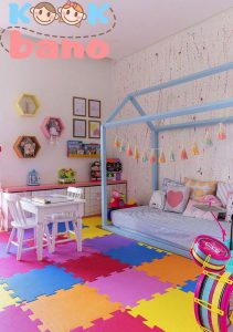 16 روش جامع و کاربردی برای طراحی و تزئین اتاق کودک دختر و پسر