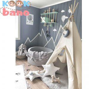 رنگ اتاق کودک خود را متناسب با جنسیت کودک خود انتخاب کنید.