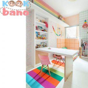 طراحی ساده و مدرن اتاق کودک:
