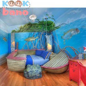 دکوراسیون داخلی اتاق کودک پسر به سبک ایرانی