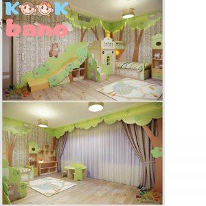 3جز اساسی و کاربردی در طراحی اتاق پسر بچه مدرن