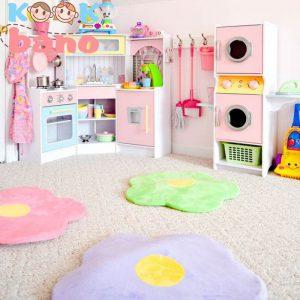 دیزاین داخلی اتاق خواب دخترانه با تم شخصیت های کارتونی