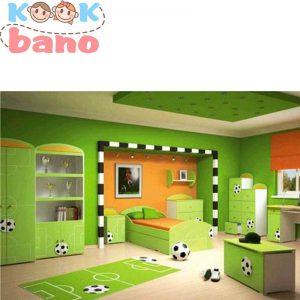 استفاده از رنگ های شاد در اتاق کودک
