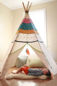 ویژگی های چادر سرخپوستی: