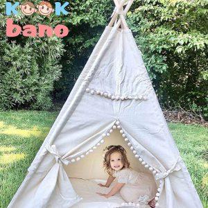 چادر بازی کودک طرح سرخپوستی