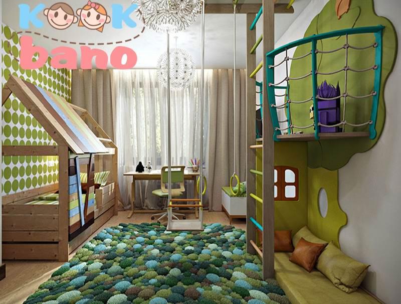 طراحی اتاق پسر بچه مدرن و کاربردی