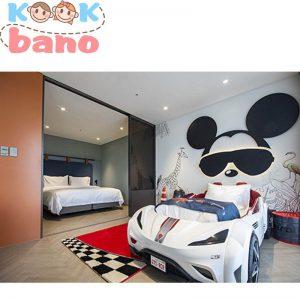 دکوراسیون اتاق بچه با طراحی فانتزی مکی موس
