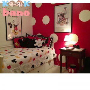 دیزاین داخلی اتاق خواب دخترانه