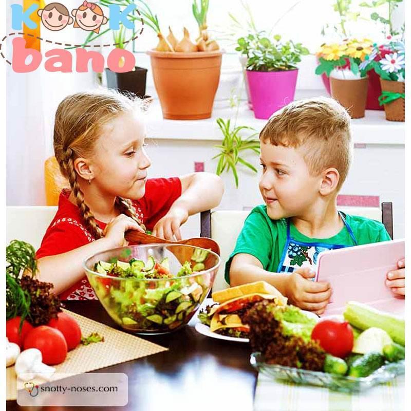 ۱۰ نکته درباره اصول تغذیه کودکان