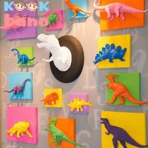 طراحی و تزیین اتاق کودک با تابلو های با تصویر حیوانات: