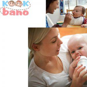 قطع شیر شبانه کودک بالای 6ماه