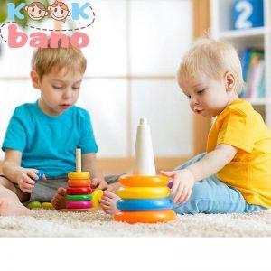 انواع اسباب بازی های مناسب این سن عبارتند از: