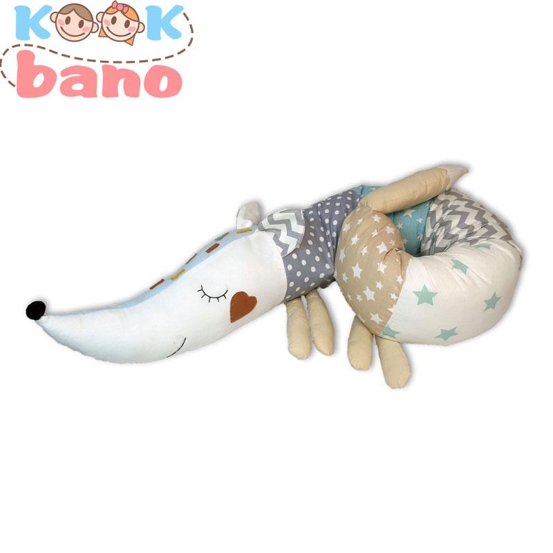 گارد لوله ای عروسکی طرح روباه مدل Sleeping Fox