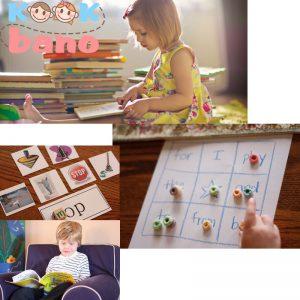 آموزش خواندن و نوشتن به نوزاد زیر 5 سال