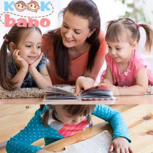فعالیت های خواندن برای سنین 3-5 سال