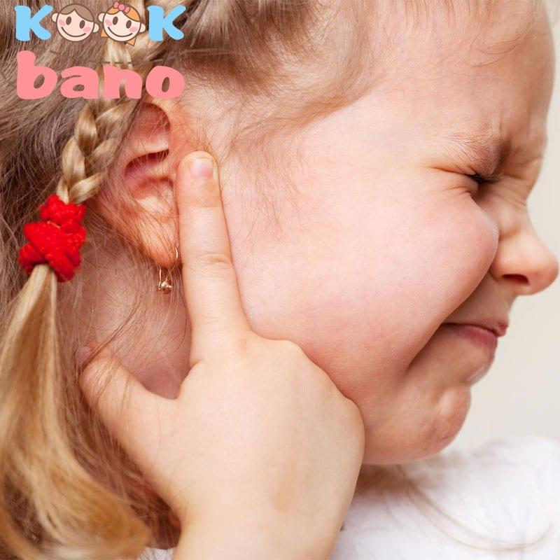 علائم،علت و درمان گوش درد کودک در خانه