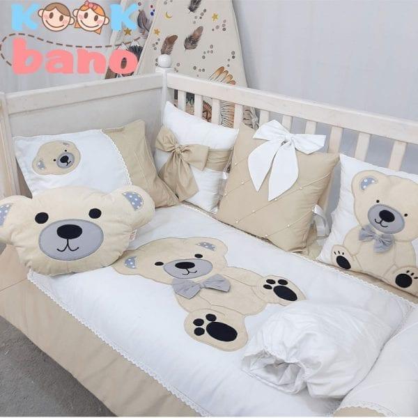 سرویس خواب کودک 9 تکه مدل Lovely Bear