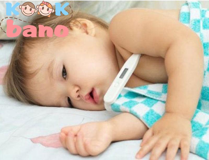 تب در نوزادان و مراقبت ها از کودک تب دار