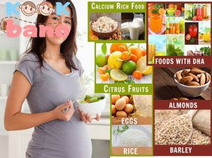 اهداف تغذیه سالم در دوران بارداری: